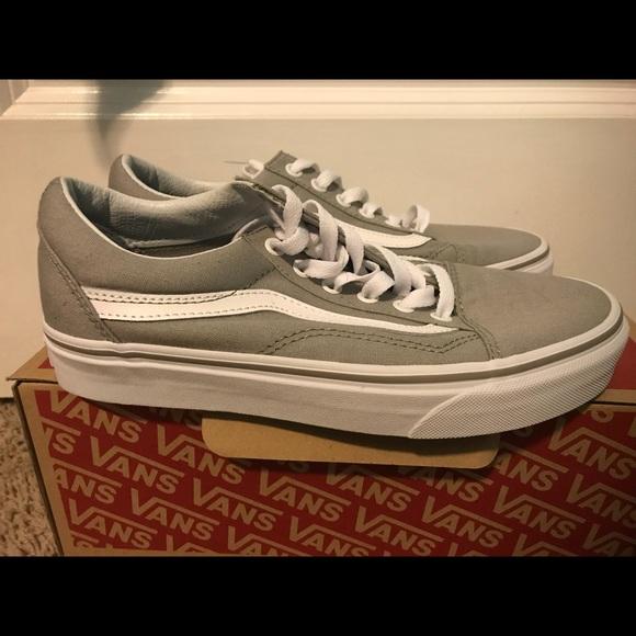 67de2d44847 Grey White Vans